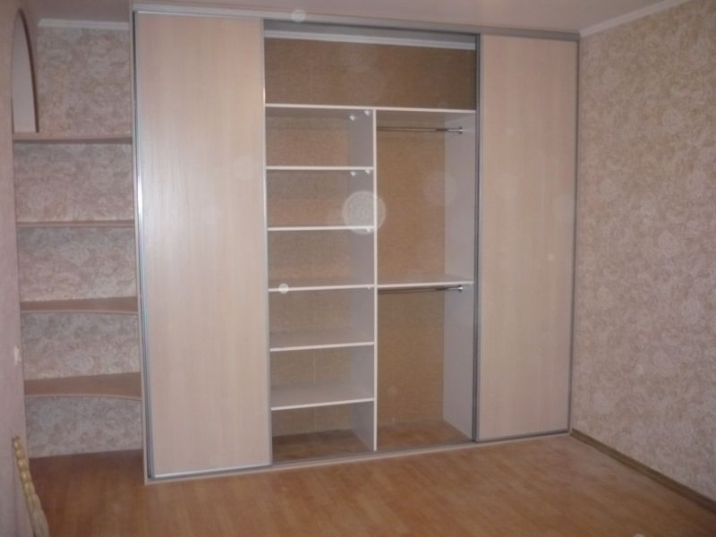 Шкафы с открытыми полками