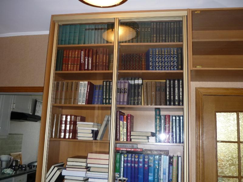 Шкафы купе для книг