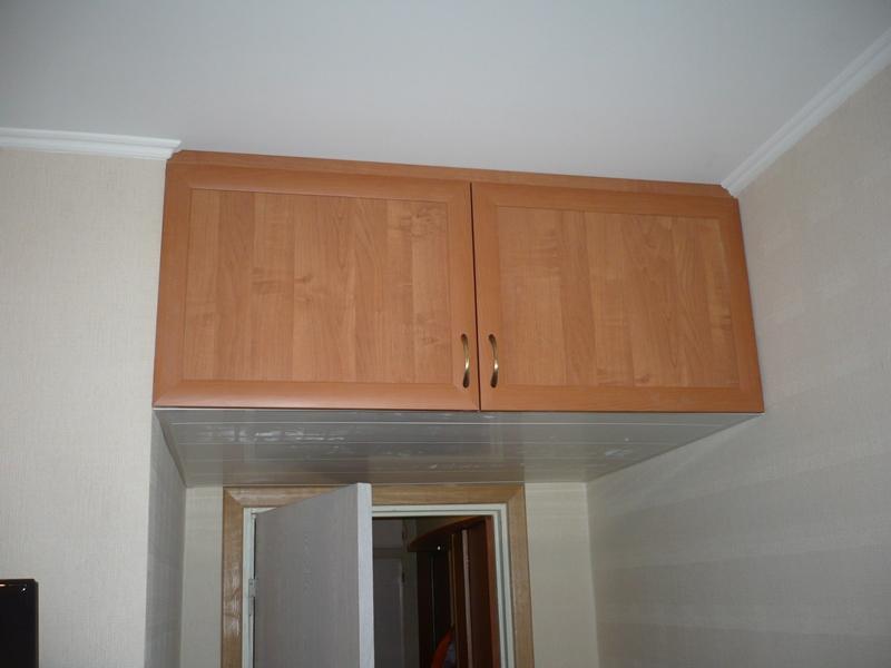 Встроенные шкафы на кухне своими руками 47