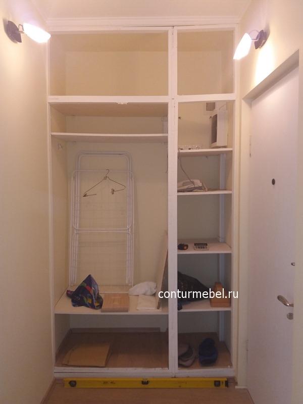 как обновить старый шкаф покрасить внутри поменять двери фото