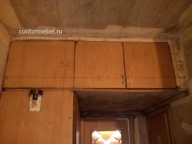 Старые встроенный шкаф и антресоль