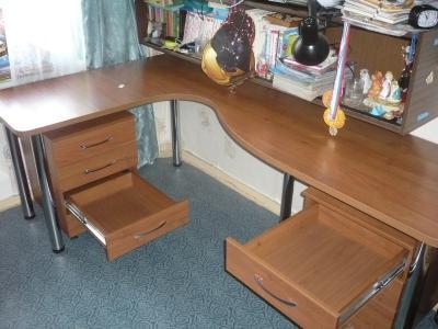 Письменные столы угловые, фото