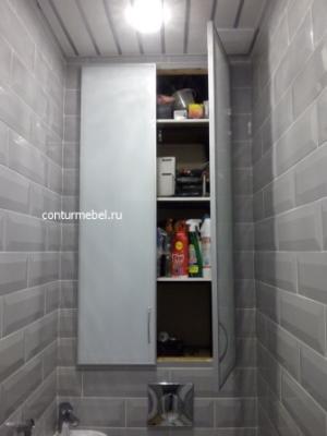 Накладная дверь сантех шкаф