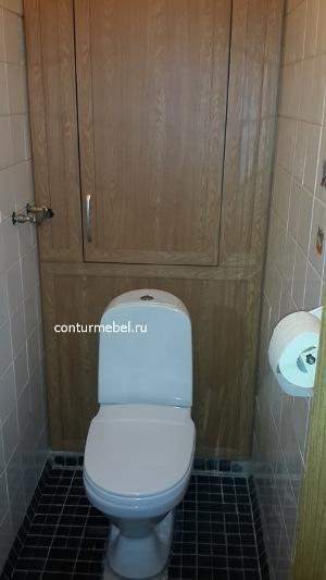 Шкаф в туалете за унитазом фото встроенные